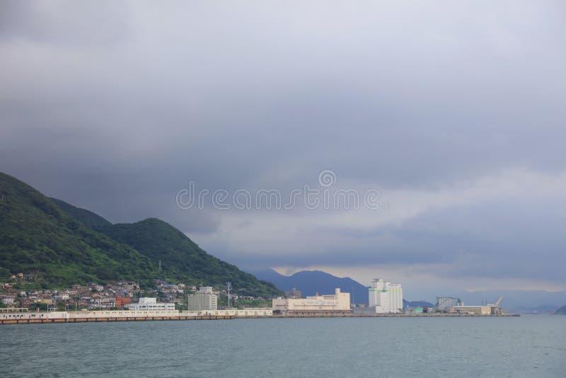 Kitakyushu, de Prefectuur van Fukuoka, Japan royalty-vrije stock fotografie