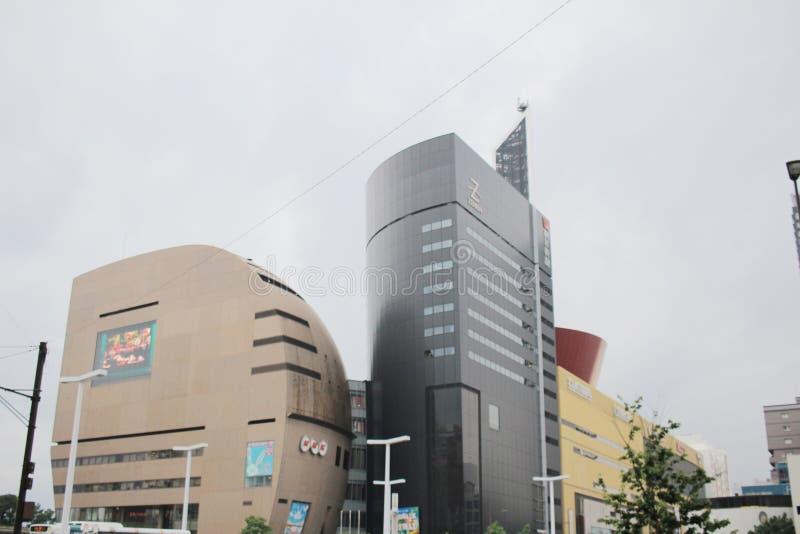 Kitakyushu, de Prefectuur van Fukuoka, Japan stock fotografie