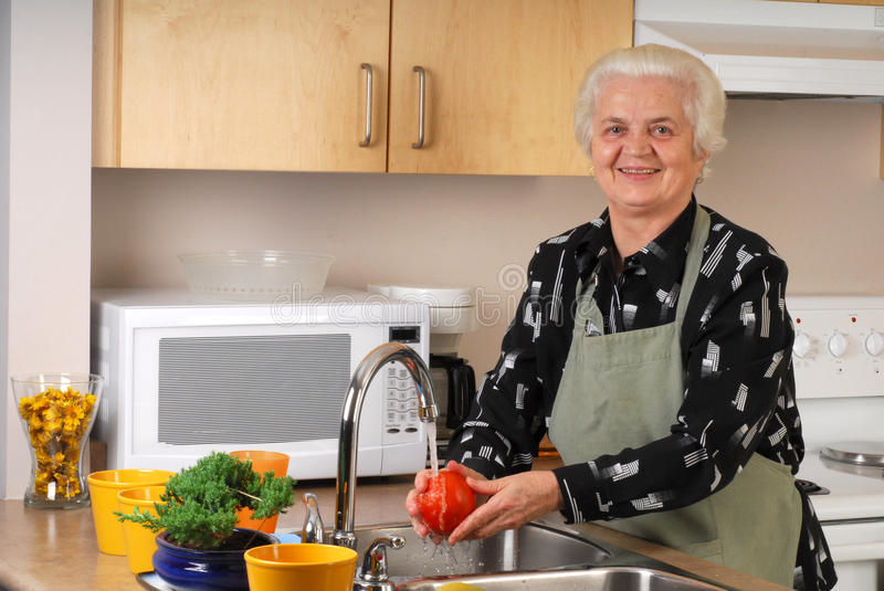 In the Kitchen stock photography