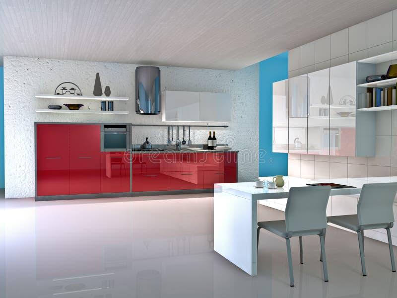 Kitchen royalty free illustration