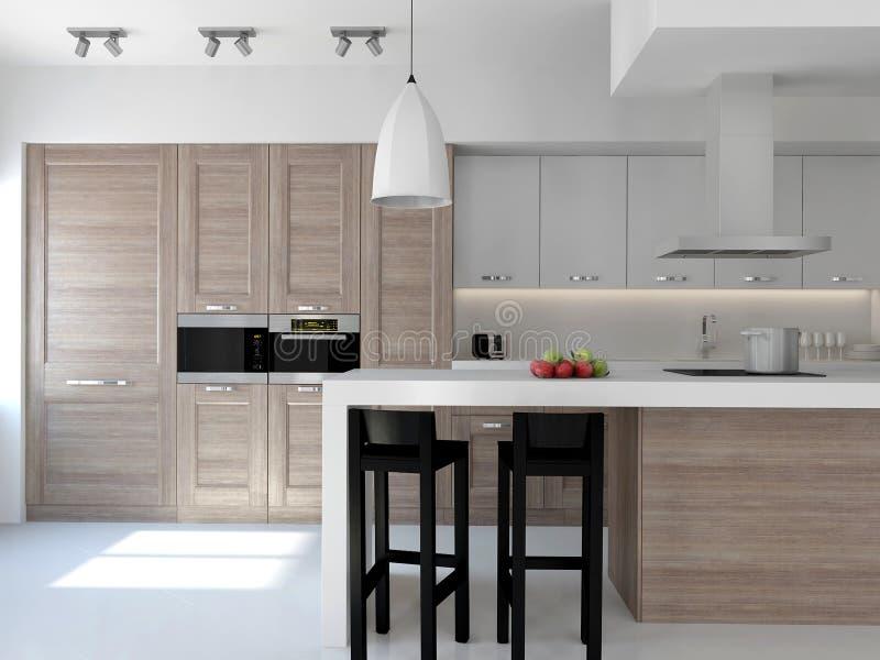 Download Kitchen stock illustration. Illustration of apartment - 14058111
