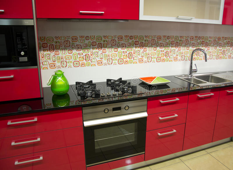 Download Kitchen stock image. Image of bright, interior, drawer - 23777181