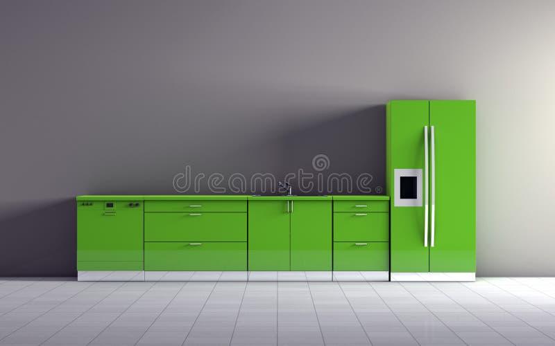 Download Kitchen stock illustration. Illustration of interior - 24187733