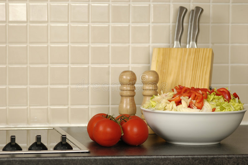 Download Kitchen stock image. Image of tomatoes, nutrition, feta - 451139