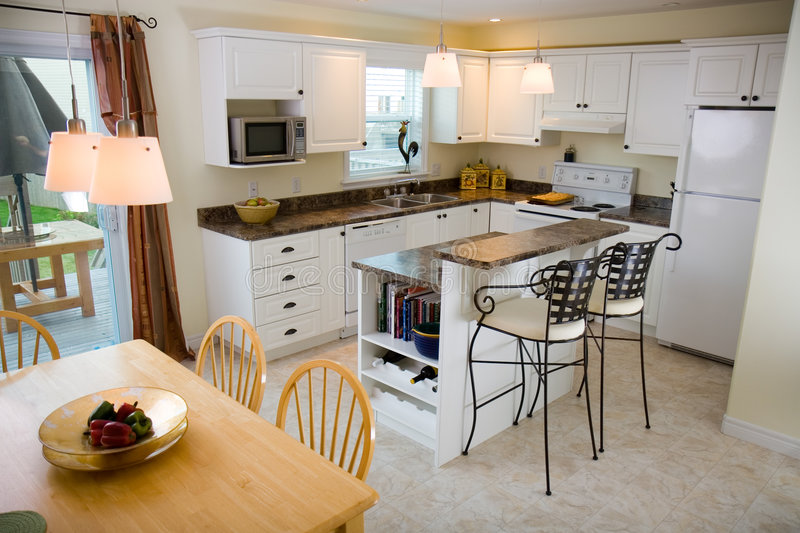 Download Kitchen stock image. Image of quality, room, house, table - 4972955