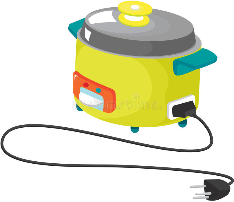 Kitchen appliances vector illustration