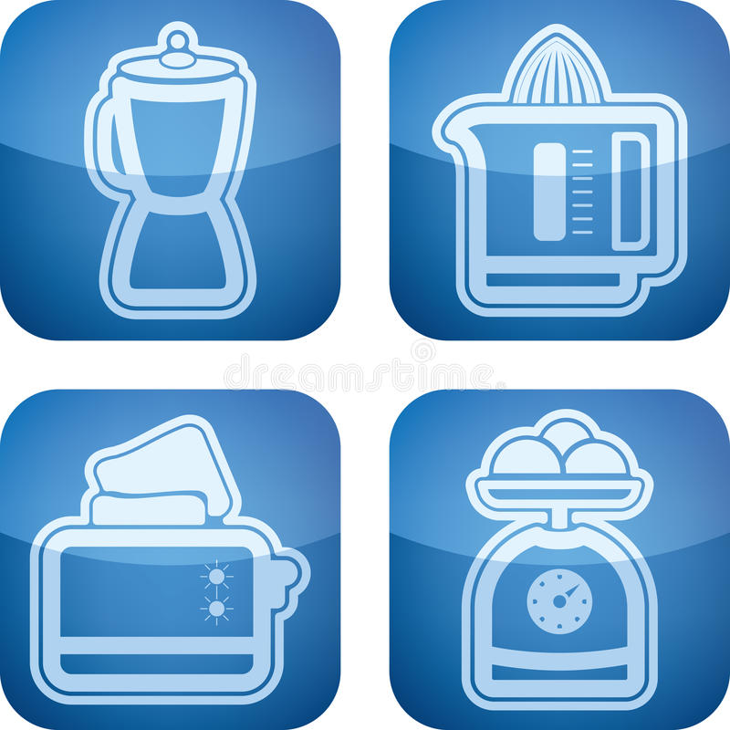 Free Kitchen Appliances Royalty Free Stock Photos - 25936908