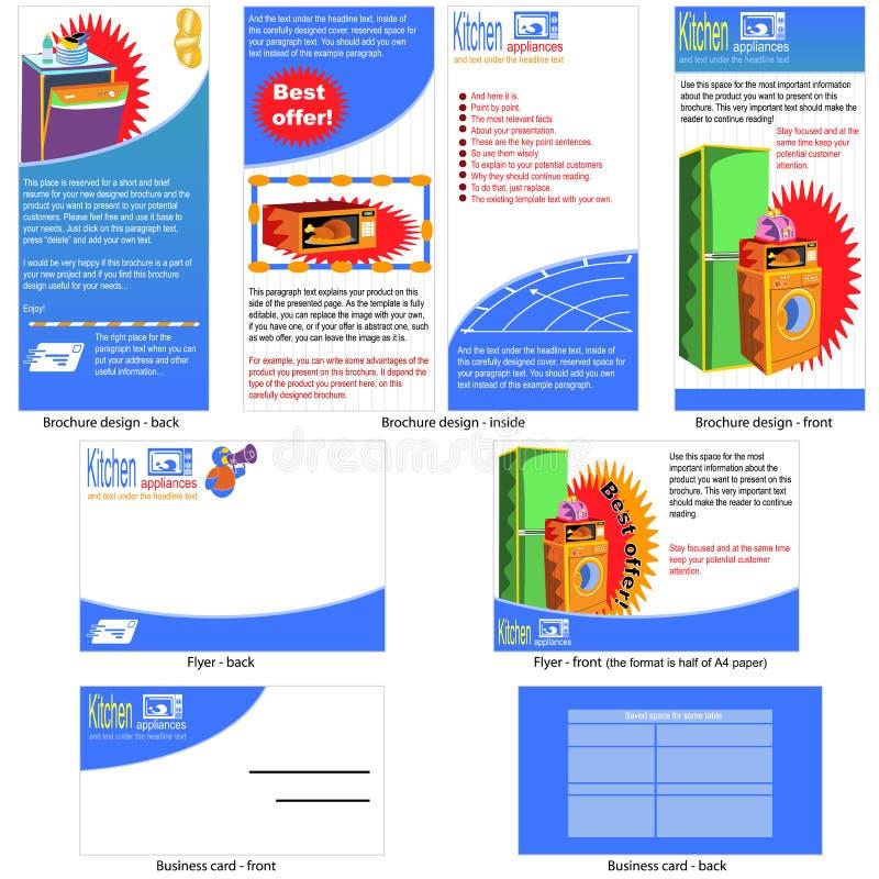 download kitchen appliances template design stock vector   illustration  32140684 kitchen appliances template design stock vector   illustration      rh   dreamstime com