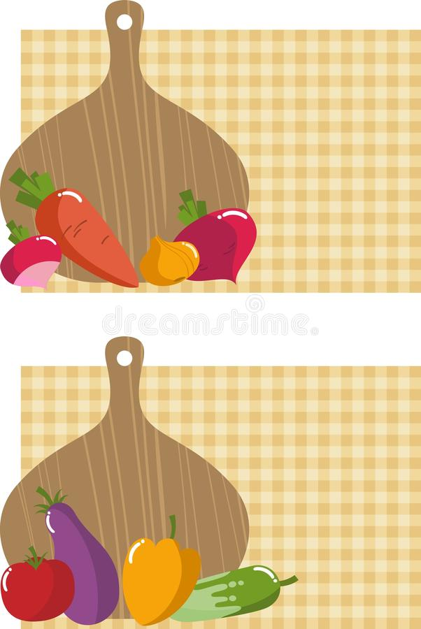 Download Kitchen Board With Vegetables Stock Photography - Image: 23264972