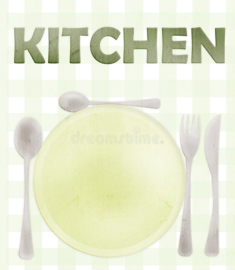 Messy Kitchen Menu: Messy Kitchen Stock Illustrations