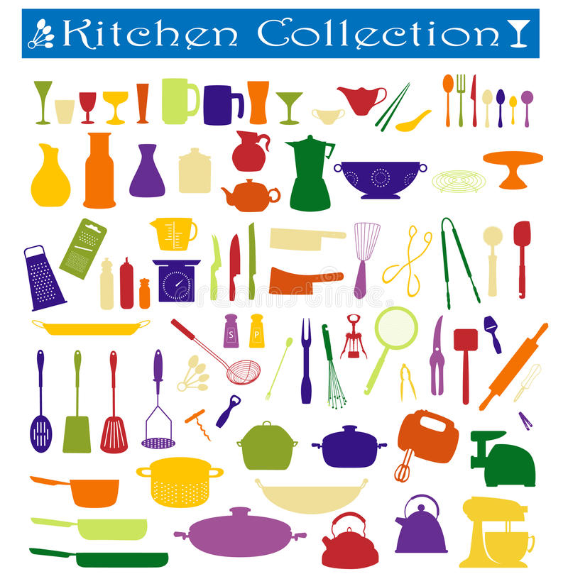 Free Kitchen Collection Royalty Free Stock Photo - 12700255