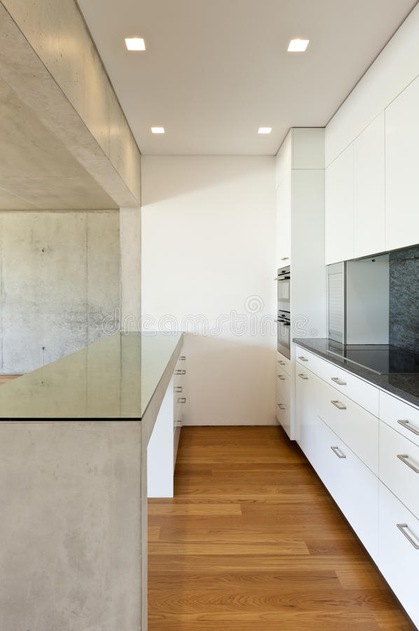 Download Kitchen, Concrete Table Royalty Free Stock Image - Image: 24709956