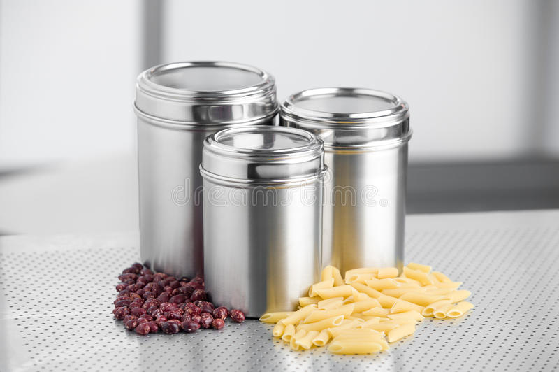 Download Kitchen Containers stock photo. Image of containers, counter - 21323802