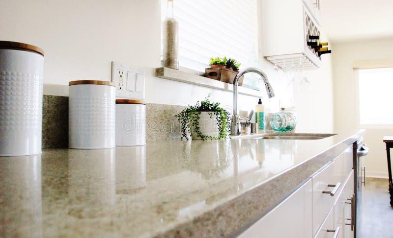 Kitchen Counter royalty free stock photo