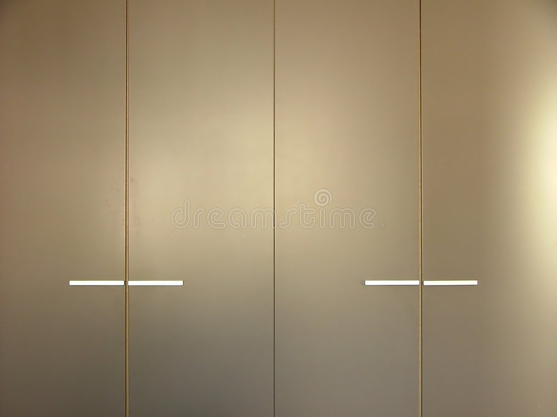 Kitchen cupboards royalty free stock image