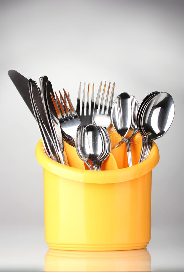 Kitchen cutlery royalty free stock photo