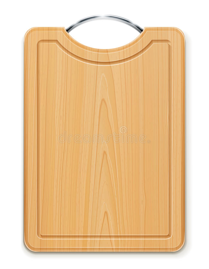 Download Kitchen Cutting Board With Handle Stock Vector - Illustration of handle, tool: 23325856