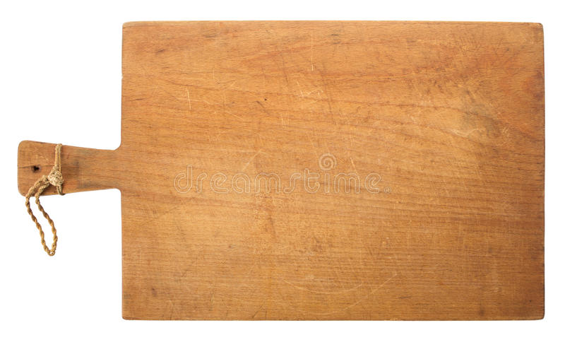 Kitchen Cutting Board Isolated stock image