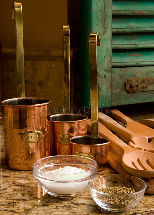 Kitchen De Provence. Provencal Kitchen and Spice all very nice royalty free stock images