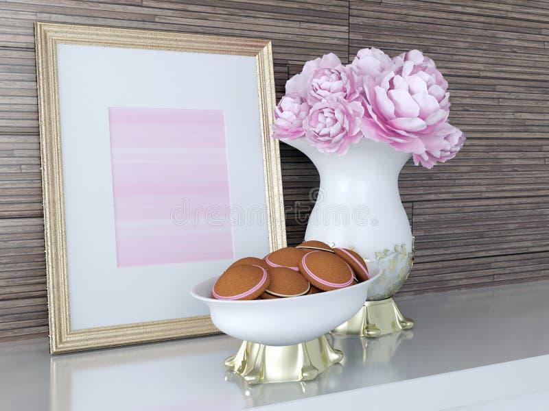 Kitchen decor. stock photography