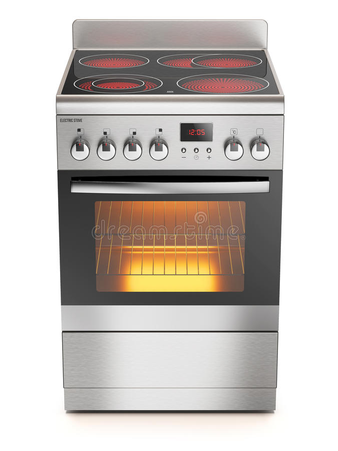 Free Kitchen Electric Stove Stock Photos - 59708383