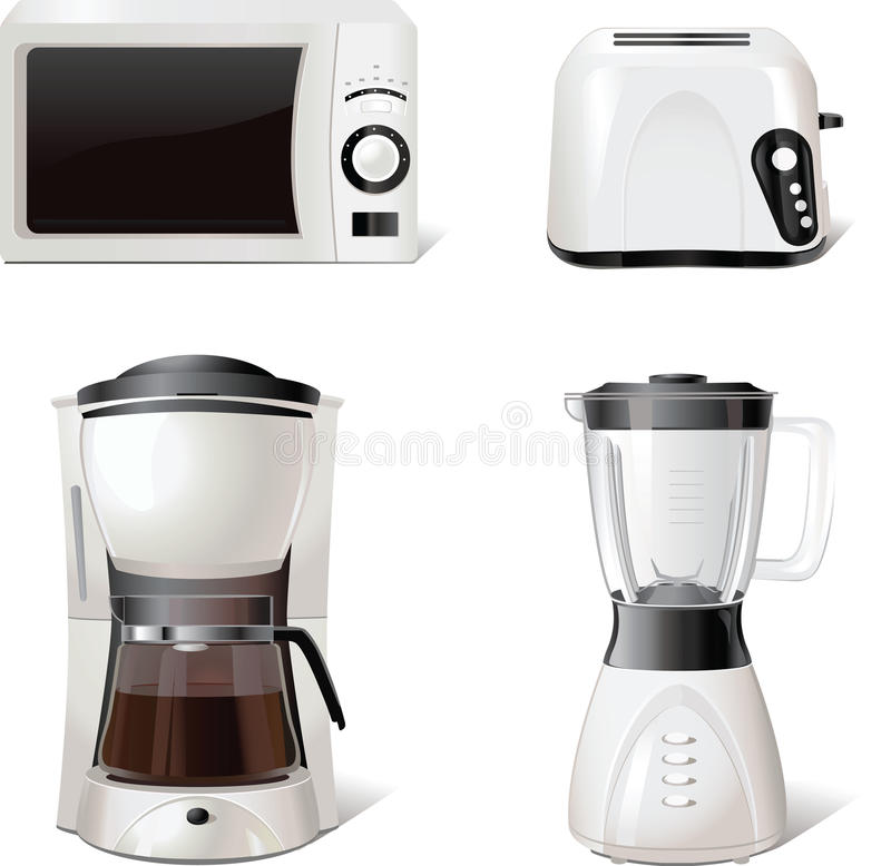 Download Kitchen Equipment Icons For Windows, Print, Vector Stock Photos - Image: 14592983