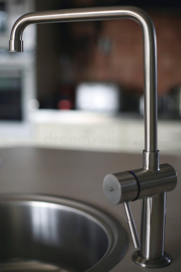 Kitchen Faucet stock image