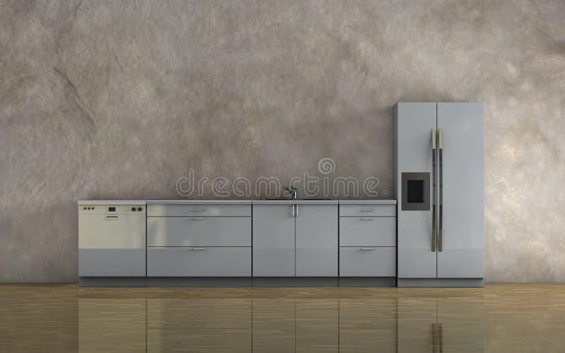 Download Kitchen furniture stock illustration. Image of decoration - 24167246