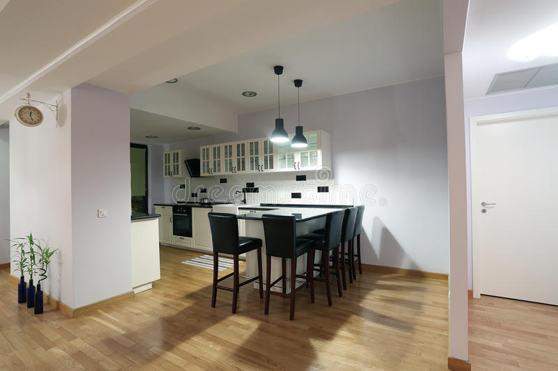 Kitchen furniture stock images
