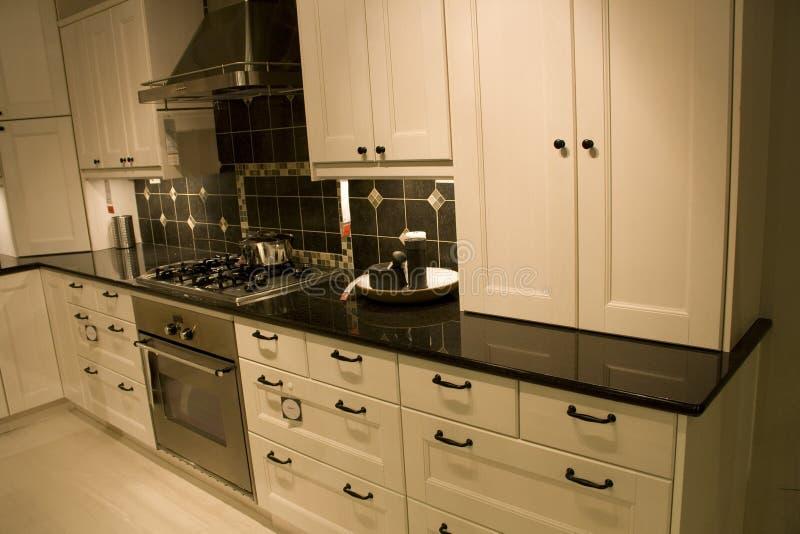 Kitchen furniture store royalty free stock image