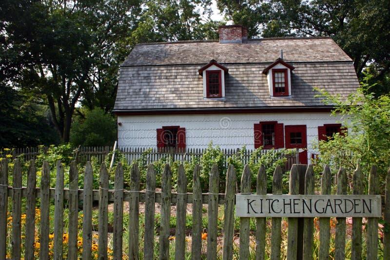 Kitchen Garden stock photo