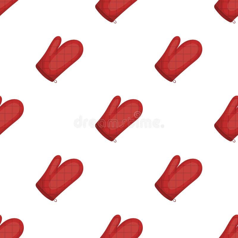 Kitchen glove.BBQ single icon in cartoon style vector symbol stock illustration web. Kitchen glove.BBQ single icon in cartoon style vector symbol stock stock illustration