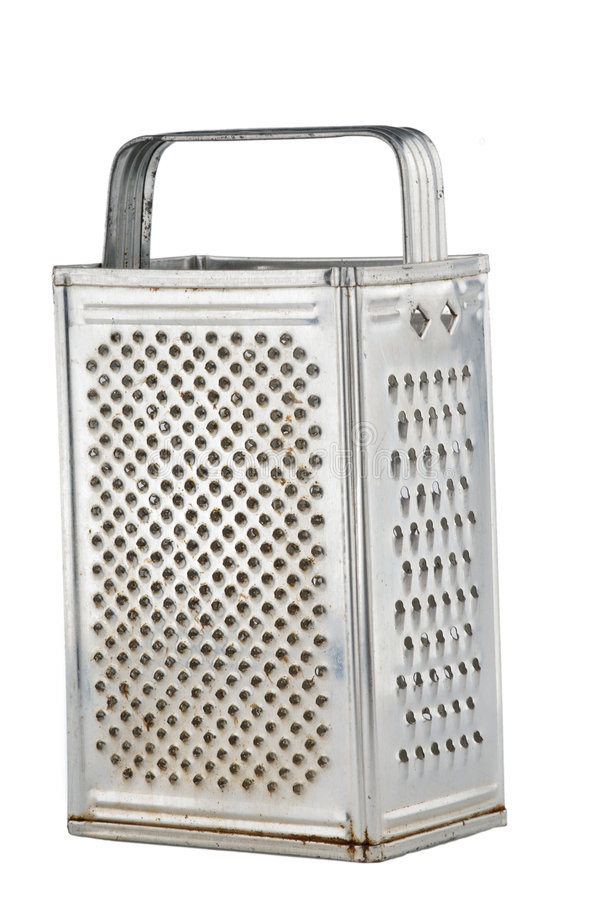 Kitchen grater isolated stock photography