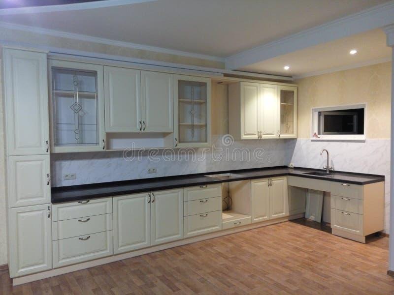 Kitchen. Home design made stock photo