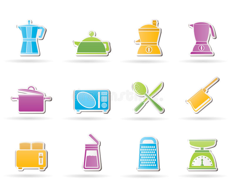 Kitchen And Household Equipment Icon Royalty Free Stock Image