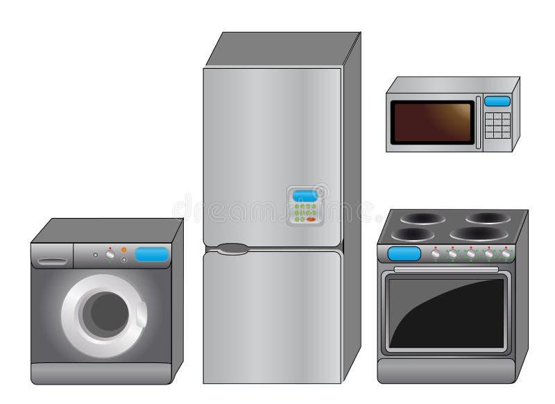 Kitchen icon set vector illustration