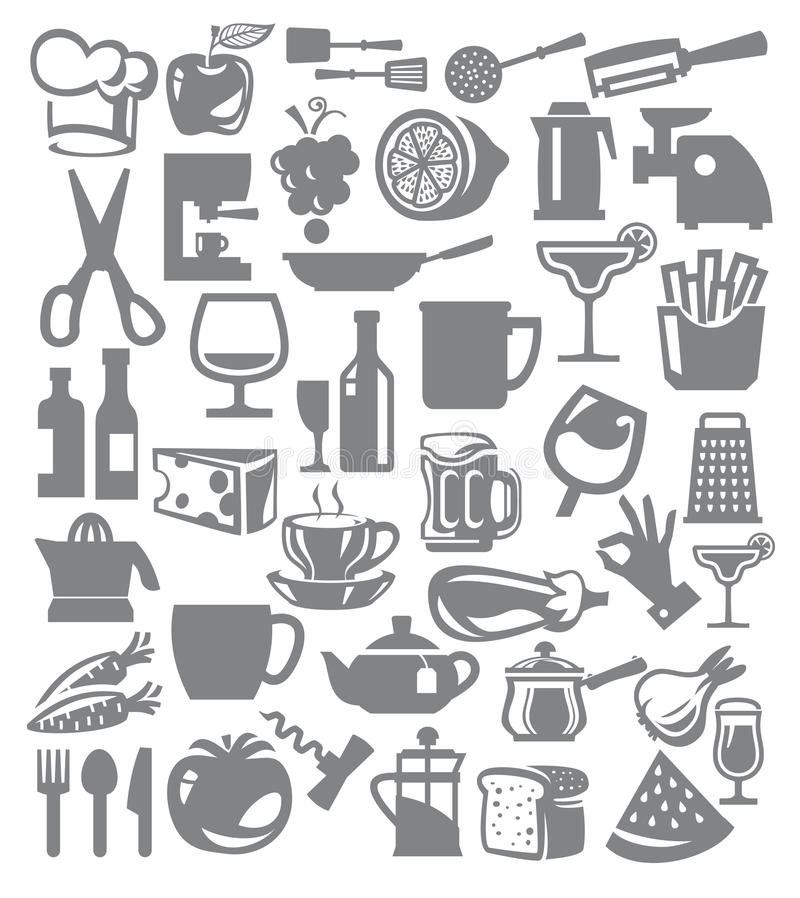 Download Kitchen icon stock vector. Illustration of beer, restaurant - 30373023