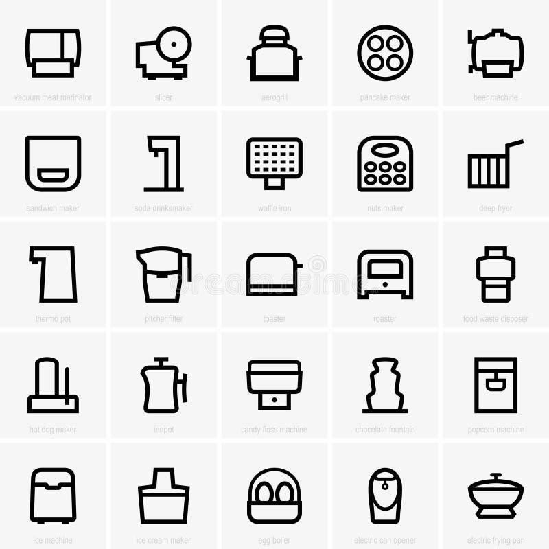 Free Kitchen Icons (part 2) Stock Photos - 55226613