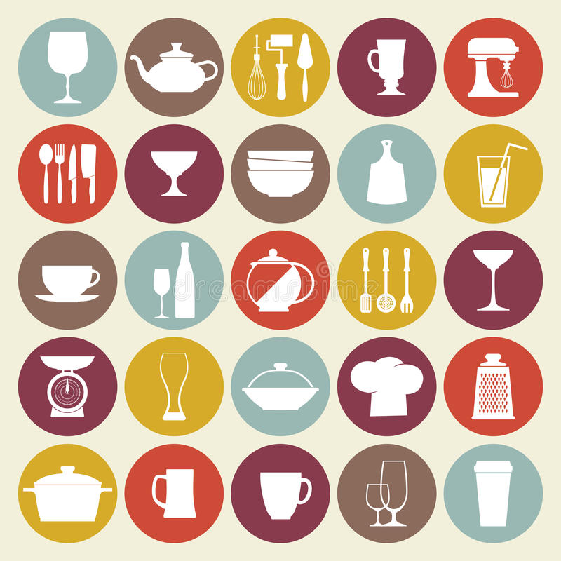 Kitchen_Icons_SET бесплатная иллюстрация