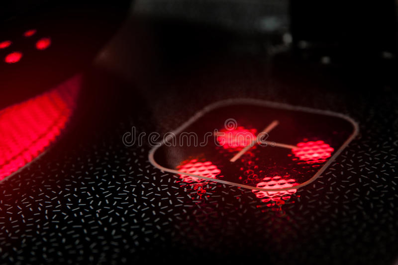 Kitchen Induction Cooker Royalty Free Stock Images