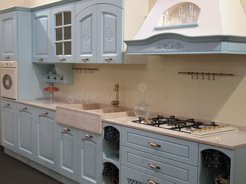 Download Kitchen interior stock image. Image of domestic, indoor - 13468043