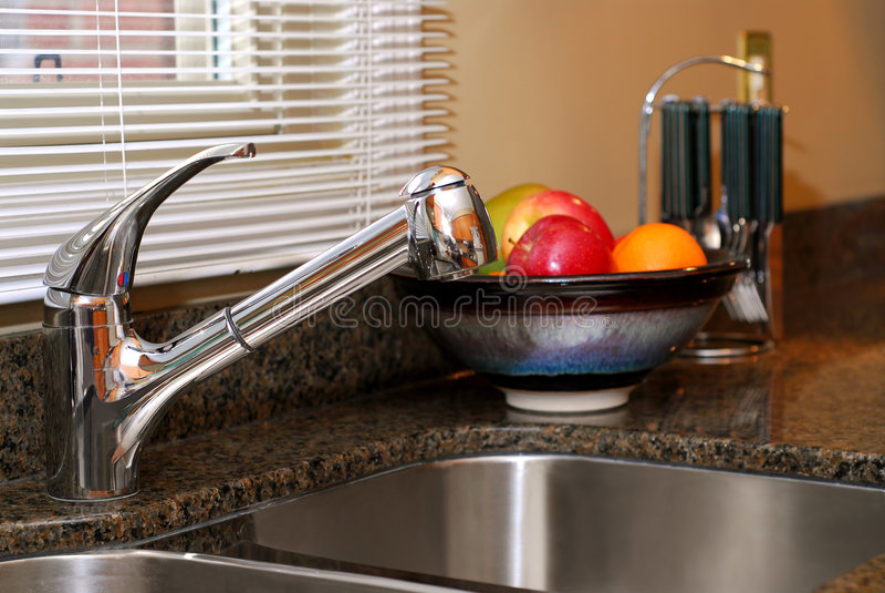Download Kitchen interior stock photo. Image of fruit, interior - 2156746