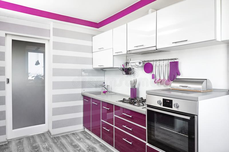 5 293 Purple Kitchen Design Photos Free Royalty Free Stock Photos From Dreamstime