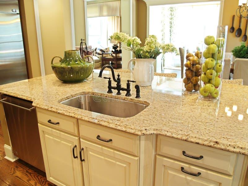 Download Kitchen Island Royalty Free Stock Photo - Image: 8012685