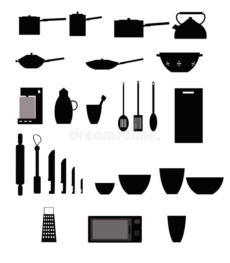 Kitchen Items Stock Photography