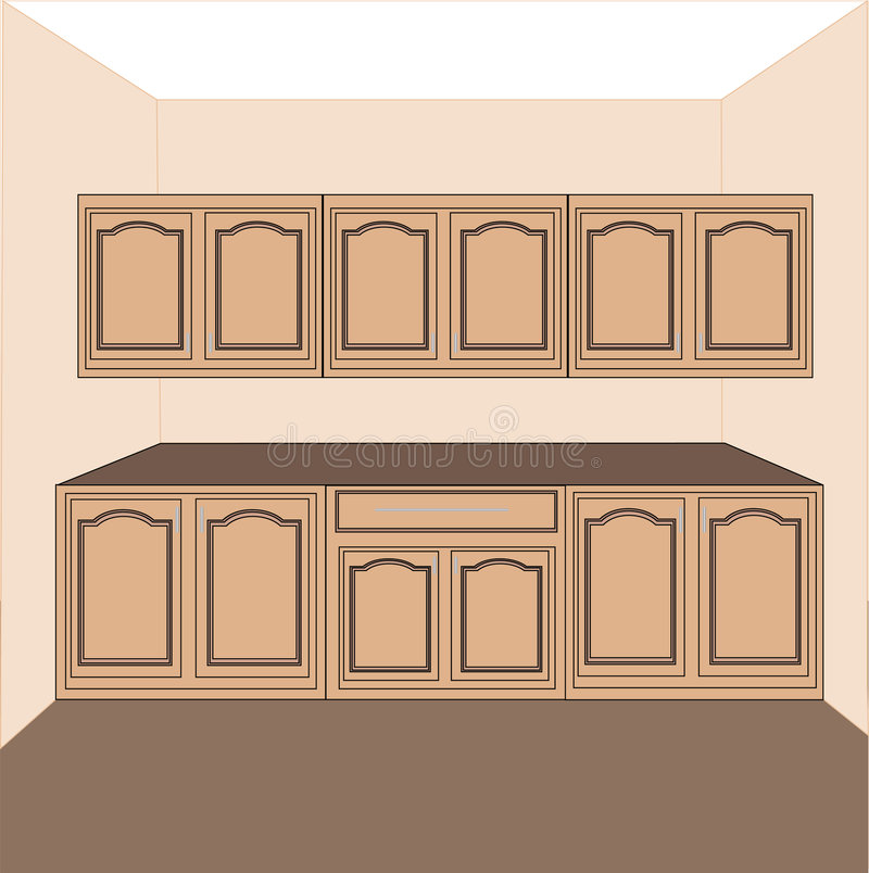 Download Kitchen Laundry Cabinets,vector Stock Vector   Illustration Of  Expensive, Cabinet: