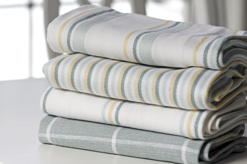 Kitchen Linens - Tea Towels royalty free stock images