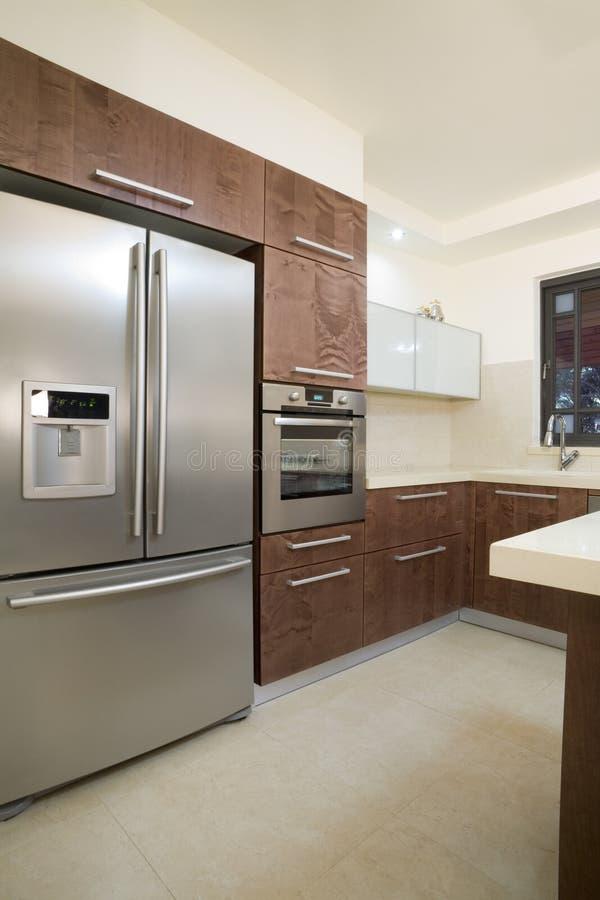 Kitchen luxury design royalty free stock image