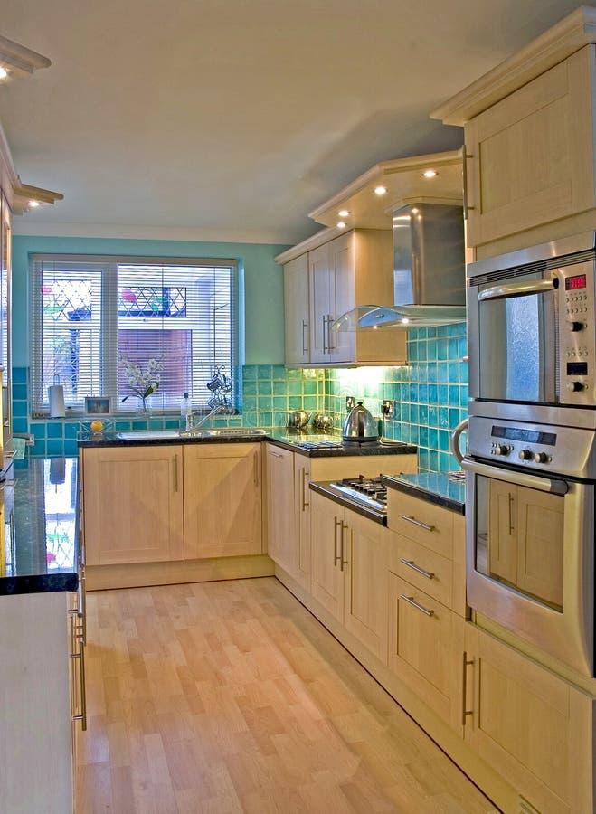Kitchen in Luxury UK home 1 stock photos