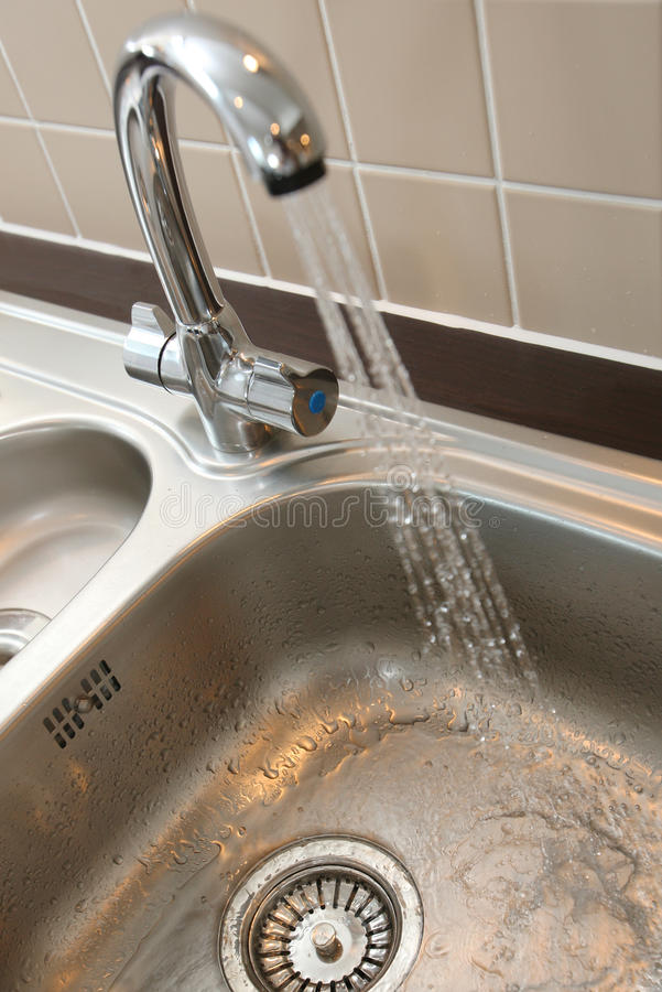 Download Kitchen Mixer Tap & Sink stock image. Image of sink, fresh - 11529839